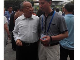 阎德学出席太湖世界文化论坛