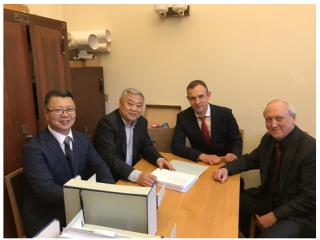 周边中心主任沈志华教授赴莫斯科洽谈档案合作