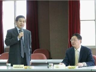 范军副校长率团访问政治大学