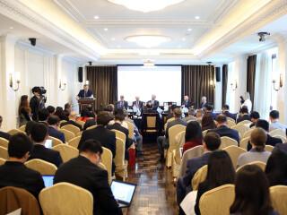 """""""瓦尔代""""国际辩论俱乐部中俄论坛在上海召开"""