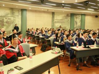 国关院举办2018届中外学生毕业典礼