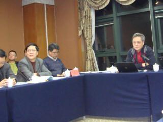 """冯绍雷教授应邀参加""""多元、立体、跨越时空:中国边疆治理与周边环境""""青年学术研讨会"""