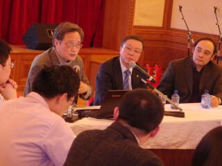 冯绍雷教授应邀在中国驻俄罗斯大使馆做演讲