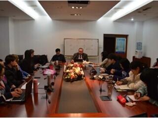 美国国防大学近东南亚战略研究中心研究员杰弗瑞•佩恩来访
