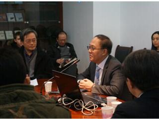 """邱震海""""全球新格局下的中国新定位和潜在风险""""主题讲座顺利举行"""