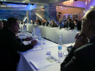 冯绍雷主任出席2015年瓦尔代国际辩论俱乐部年会