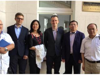 周边中心研究员潘兴明教授带队访问中东欧三国