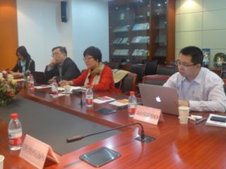 上海交大国家海洋战略与权益研究基地有关人员来访中心