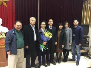 沈志华教授、李丹慧教授访问河内师范大学