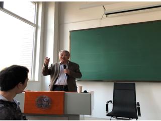 沈志华教授受邀参加北京大学中朝研究会成立大会