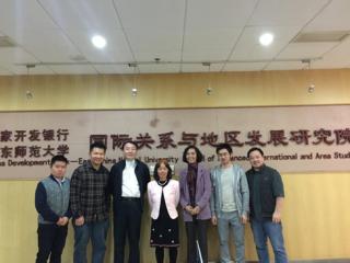 应周边中心主任冯绍雷教授邀请,台湾政治大学俄罗斯研究所洪美兰教授访问华东师范大学周边中心