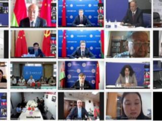 """2021年6月15日,周边中心研究员贝文力参加由白俄罗斯战略研究所主办的""""白俄罗斯和中国:共同的发展轨道""""中白智库线上圆桌会议"""